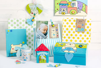 idea regalo neo mamma set nascita